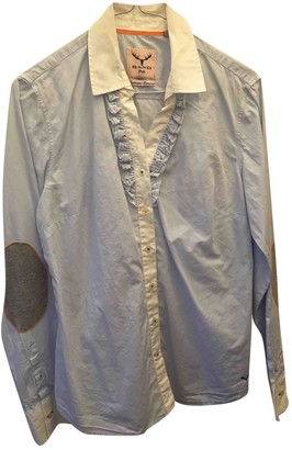Sand Blue Cotton Top for Women