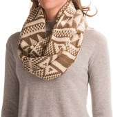 Woolrich Geometric Infinity Scarf (For Women)
