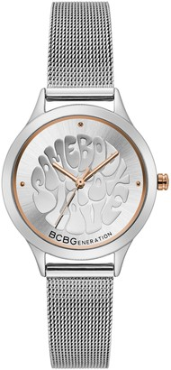 BCBGeneration Women's Stainless Mesh Watch