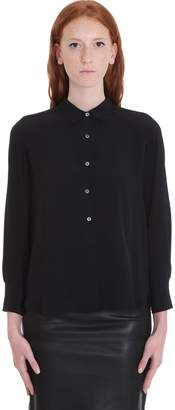Mauro Grifoni Shirt In Black Tech/synthetic