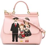 Dolce & Gabbana Family patch 'Sicily' tote - women - Calf Leather - One Size