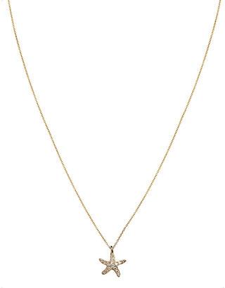 Annoushka Love Diamonds 18ct yellow-gold and diamond Starfish pendant necklace