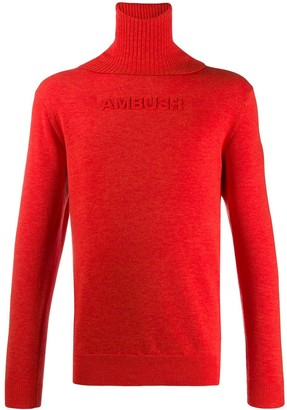 Ambush Raised Logo Turtleneck Jumper