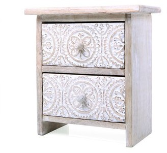 Bungalow Rose Dunmall 2 Drawer Accent Chest