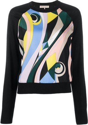 Emilio Pucci Abstract Print Jumper