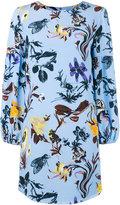 Tibi floral print dress - women - Silk/Polyester - 4
