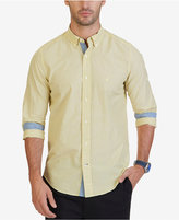 Nautica Men's Whitecap Poplin Stripe Shirt
