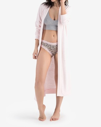 Express Honeydew Intimates Long Sleeve Lounge Cardigan