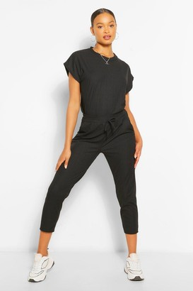 boohoo Oversized Bandage T-Shirt And Pants Two-Piece