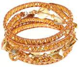 Ananda Leather Wrap Bracelet