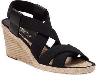Andre Assous Dalmira Elastic Wedge Sandal