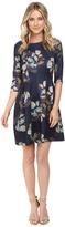 Christin Michaels Emellie 3/4 Sleeve Fit and Flare Dress Women's Dress