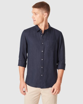 French Connection Men's Casual shirts - Soft Cotton Regular Fit Shirt - Size One Size, L at The Iconic