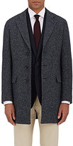 Isaia MEN'S BIRDSEYE WOOL-BLEND COAT