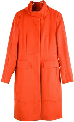 Max Mara Weekend Orange Wool Coats