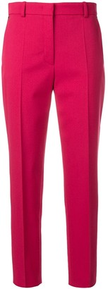 Emilio Pucci Cropped Wool-Blend Tailored Trousers
