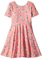 Rock Your Baby Basque Short Sleeve Dress Girl's Dress