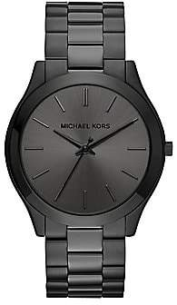 Michael Kors Women's Slim Runway Stainless Steel Analog Bracelet Watch