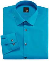 Jf J.Ferrar JF Slim-Fit Solid Dress Shirt