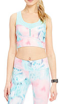 Nanette Lepore Play Active Compression Corset Crop Top