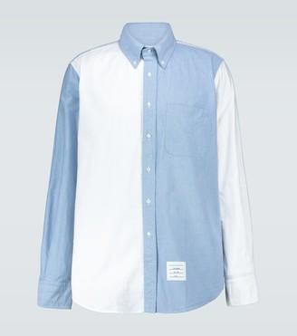 Thom Browne Fun-Mix long-sleeved shirt