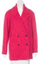 Jennifer Meyer Bouclé Double-Breasted Coat w/ Tags