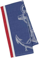 Design Imports Anchor Jacquard Cotton Dishtowels (Set of 4)