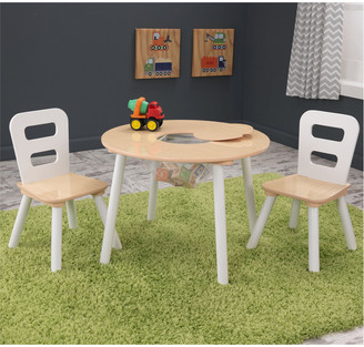 Kid Kraft Round Table And 2 Chair Set