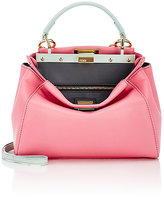 Fendi Women's Peekaboo Mini-Satchel-PINK
