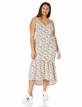 Rachel Roy Women's Plus Size Claudette Knit Jacquard Midi Dress