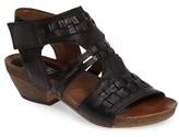 Miz Mooz Women's Calico Strappy Cutout Sandal