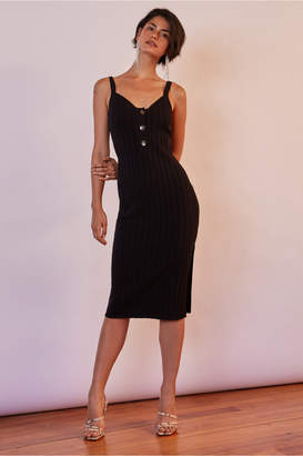 Finders Keepers WEST COAST KNIT DRESS black