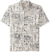 Quiksilver Waterman's Angler Short Sleeve Shirt 8161670