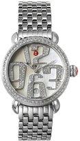 Michele Women's 32mm Steel Bracelet & Case Quartz MOP Dial Watch MWW03T000020