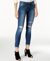 Joe's Jeans Ripped Cuffed Skinny Jeans
