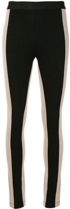 BCBGMAXAZRIA Two-Tone Leggings
