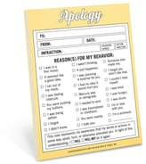 Knock Knock Apology Note Pad