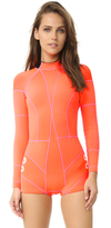 Cynthia Rowley Wetsuit with Faux Grommet Detail