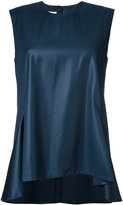 Jil Sander flared tank top