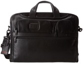 Tumi Alpha 2 - Compact Large Screen Laptop Leather Brief Computer Bags