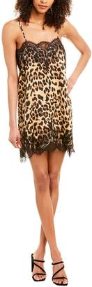 City Sleek Lace-Trim Slip Dress