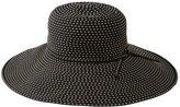 San Diego Hat Company Women's Ribbon Braid Hat w/ Ticking RBL205