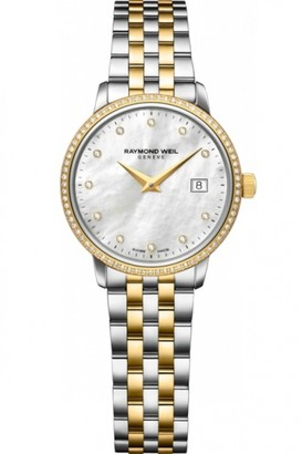 Raymond Weil Ladies Toccata Diamond Watch 5988-SPS-97081