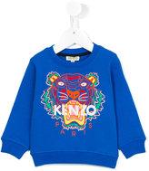 Kenzo embroidered logo sweatshirt - kids - Cotton - 24 mth