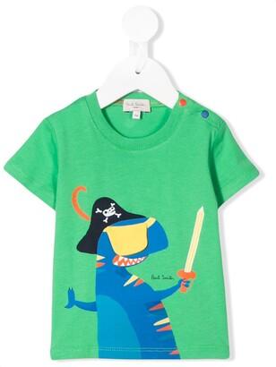 Paul Smith dinosaur print T-shirt
