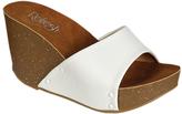 Refresh White Mara Platform Sandal