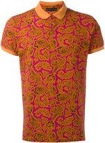 Etro paisley print polo shirt - men - Cotton - XS