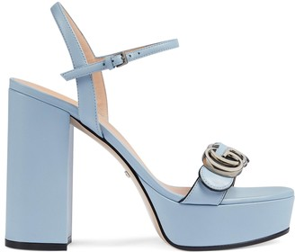 Gucci Women's platform sandal with Double G