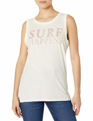 O'Neill Women's Surf Happens Screen Print Tank Top