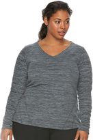 Tek Gear Plus Size Microfleece Sweatshirt